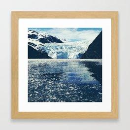 Holgate Glacier by Water Framed Art Print