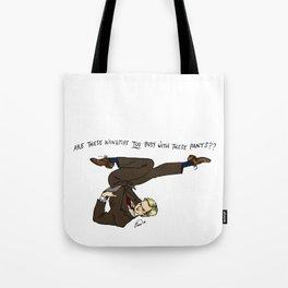 Niles Crane Pin-Up Tote Bag