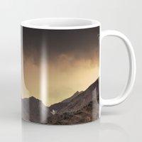 desert Mugs featuring Desert by Mila Pechenyakova