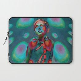 """Psychedelic Pop Fantasy"" (Twiggy) Laptop Sleeve"