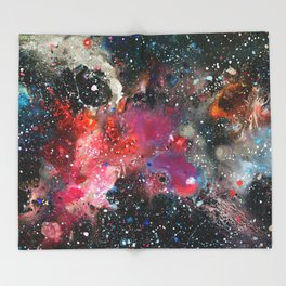 Chemistry of Nothing Throw Blanket