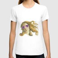 popart T-shirts featuring Venus the Popart Goddess by Ugurcanozmen