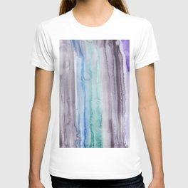 1    190907   Watercolor Abstract Painting T-shirt