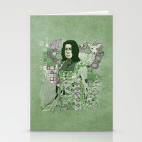 snape Stationery Cards featuring Portrait of a Potions Master by Karen Hallion Illustrations