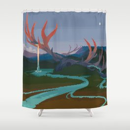 Becoming Earth Shower Curtain