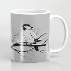 North For The Winter (Gray). Coffee Mug