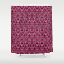 Apples Pattern Shower Curtain