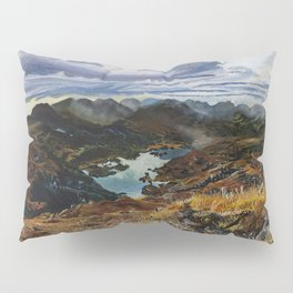 View from Torc Mountain, Killarney National Park, Ireland Pillow Sham