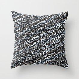 Animal Print Silk Throw Pillow