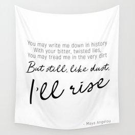I'll rise #minimalism Wall Tapestry