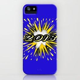 2018 Cartoon Bubble iPhone Case