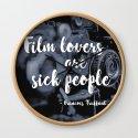 Film lovers are sick people - François Truffaut by adriangemmel