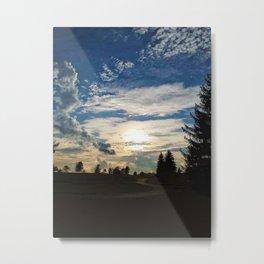 Sunset Path Metal Print