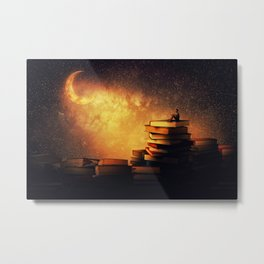 midnight tale Metal Print