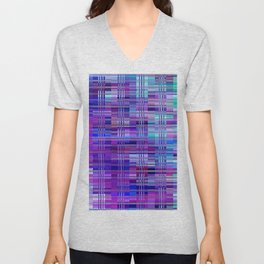 Re-Created Eighth Tier by Robert S. Lee Unisex V-Neck