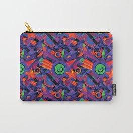 Star Burst Geometric Carpet Pattern Carry-All Pouch