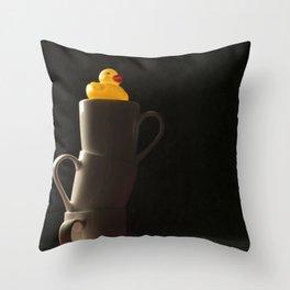 Rubber Duck Still Life Throw Pillow