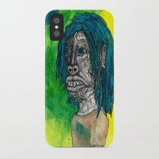 Self Portrait iPhone X Slim Case