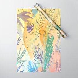 Desert Sun Pattern Wrapping Paper