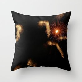 Explosions Throw Pillow