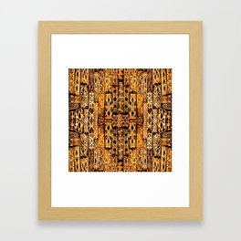 Pattern-417 Framed Art Print