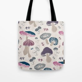 Toadstool Time Tote Bag