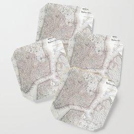 Vintage New York City Map Coaster