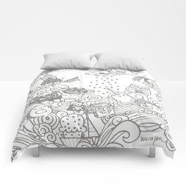 walmazan world Comforters