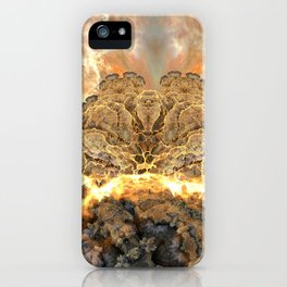Coral Above the Sun iPhone Case