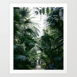 IN THE JUNGLE #2 Art Print