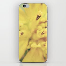 Yellow Blossom iPhone Skin