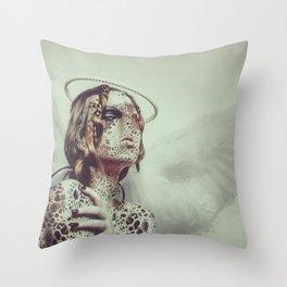 Dissimulation Throw Pillow