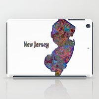 new jersey iPad Cases featuring New Jersey by gretzky