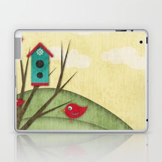 Shabby Sweet Tweet On The Hillside Laptop & iPad Skin