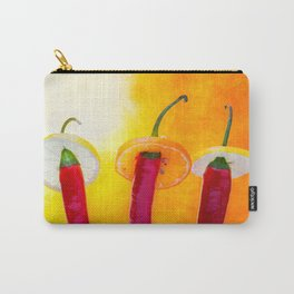 The Red, the Hot, the Chili Carry-All Pouch