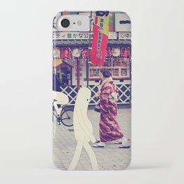 w a l k i n g i n t o k y o iPhone Case