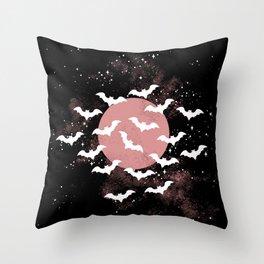 Release the Bats II  Throw Pillow