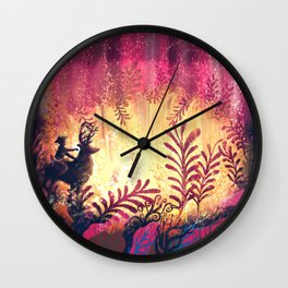 The Pit of Stardust Wall Clock