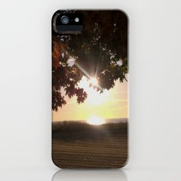 Nine Oclock Sunrise Kenosha iPhone Case