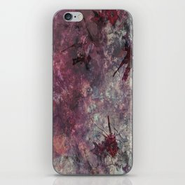 watercolors with splashes iPhone Skin