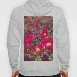 Red Flowers Hoody
