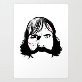 Bill Cutting Art Print