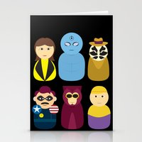 watchmen Stationery Cards featuring Watchmen by PinkRadish