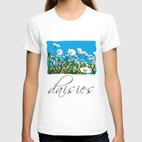 daisies T-shirts featuring Daisies by Valter Minelli