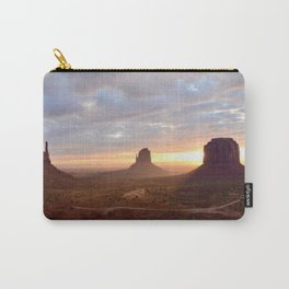 Sunrise over Monument Valley Carry-All Pouch