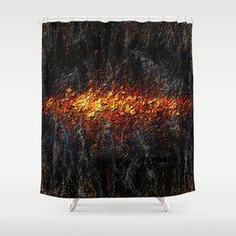 Burning Memories Shower Curtain