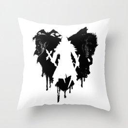 I LOVE Castlevania Throw Pillow