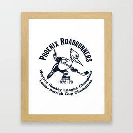 Phoenix Roadrunners T-Shirt Framed Art Print