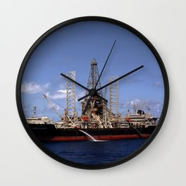 Hughes Glomar Explorer Wall Clock
