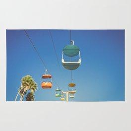 Santa Cruz Boardwalk Gondolas II Rug